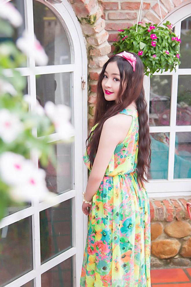 Váy maxi sắc màu lãng mạn cho bạn gái mùa thu 13