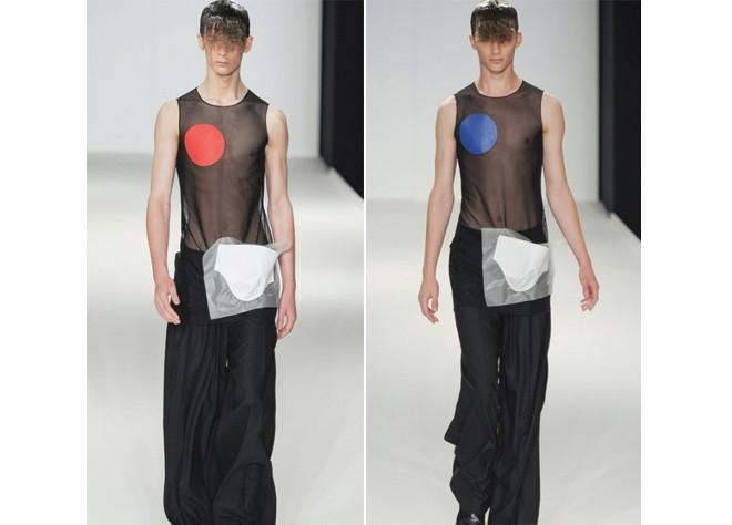 Khi người mẫu nam chuộng áo ren mỏng, váy xòe 14