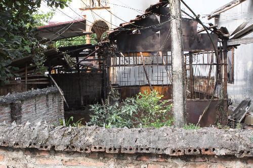 Hình ảnh thiệt hại vụ nổ kho thuốc pháo ở Phú Thọ 2