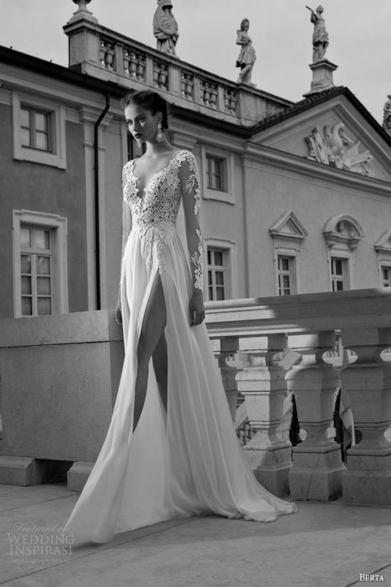 Những mẫu váy cưới dài tay đẹp đến khó tin 14