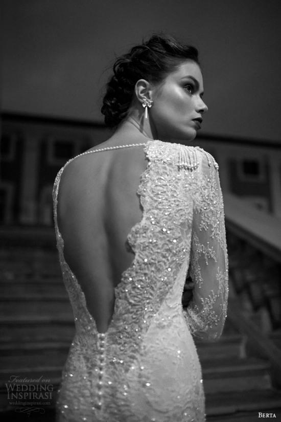 Những mẫu váy cưới dài tay đẹp đến khó tin 4
