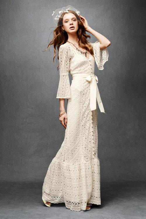 """10 váy cưới vintage """"trong mơ"""" cho cô dâu mùa thu 2"""
