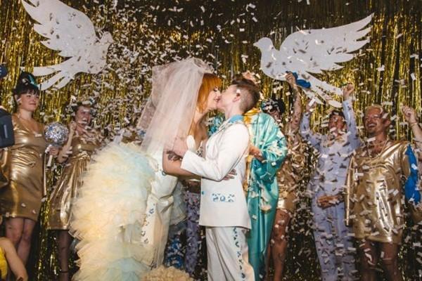 Chùm ảnh cưới đẹp long lanh của cặp đôi đồng tính Mỹ 2