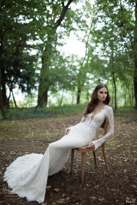 Những mẫu váy cưới dài tay đẹp đến khó tin 12