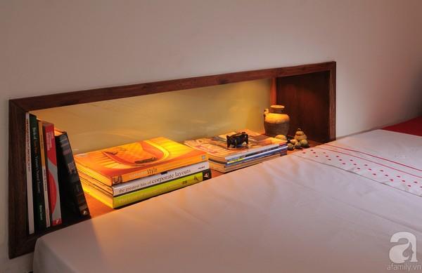 Ngắm căn hộ 22m² sử dụng đồ gỗ tái chế cực chất tại Phú Nhuận 8
