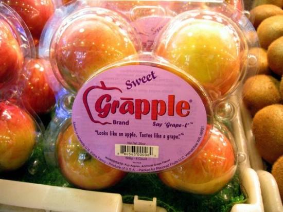 Kỳ lạ quả táo có hương vị nho 1