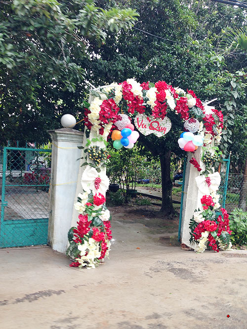 Ảnh cưới của Ngô Quang Hải và vợ 9X ở Cần Thơ 2