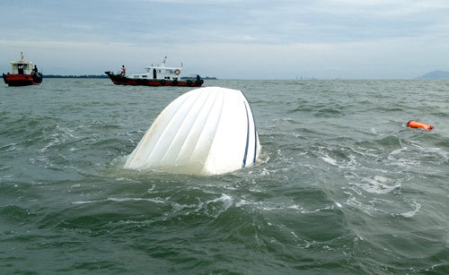 Nhật ký cứu nạn con tàu chìm ở Cần Giờ 1