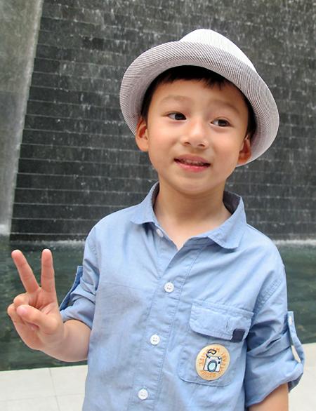 Thời trang sành điệu của nhóc tì nhà sao Việt (2) 1