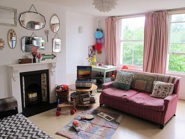 Ngắm căn hộ vintage đẹp như mơ nhờ tận dụng đồ cũ 3