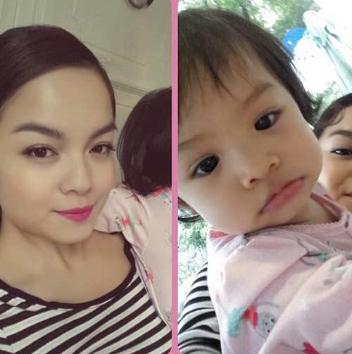 Phạm Quỳnh Anh rạng rỡ mừng sinh nhật con gái 4