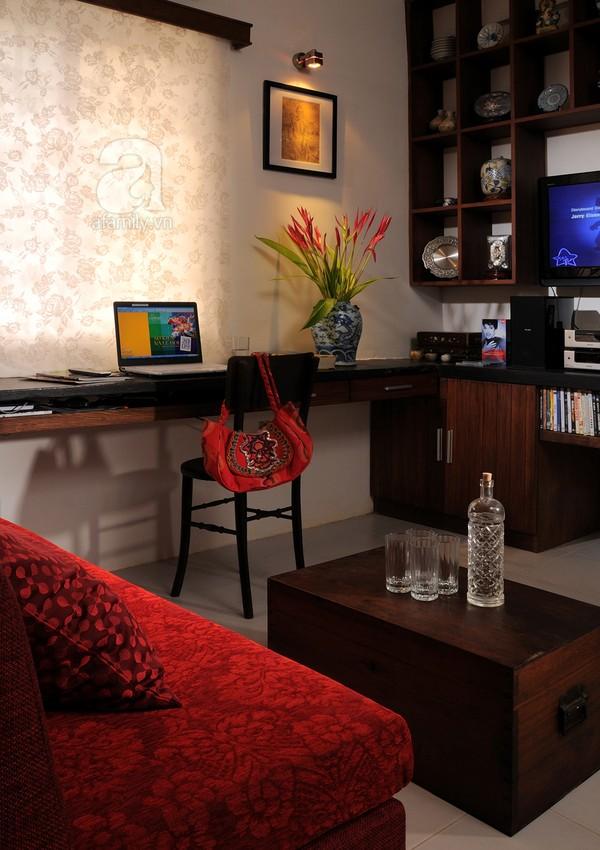 Ngắm căn hộ 22m² sử dụng đồ gỗ tái chế cực chất tại Phú Nhuận 2