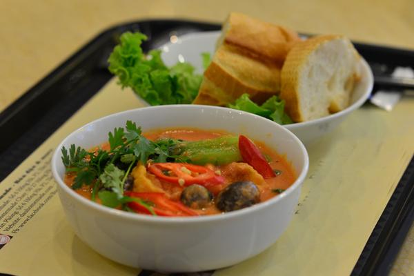 No miệng bữa trưa với những món ăn rau củ 7