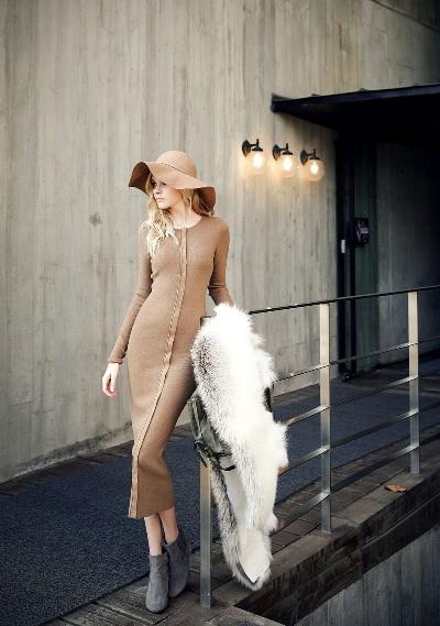 """Những mẫu váy len mùa đông 2013 đẹp """"ngút trời"""" 13"""