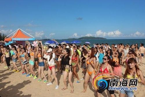 Ngắm rừng người đẹp nhảy múa bên bãi biển 9
