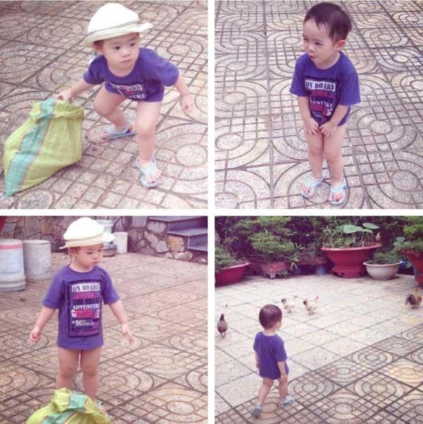 Con trai Lý Hải càng lớn càng điển trai 21