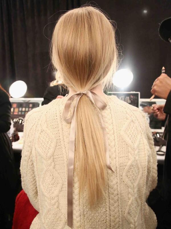 7 kiểu tóc búi, cột quyến rũ cho mùa Hè 2013 18