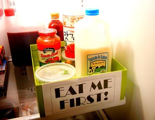 Mẹo vặt giữ tủ lạnh sạch sẽ, gọn gàng 9