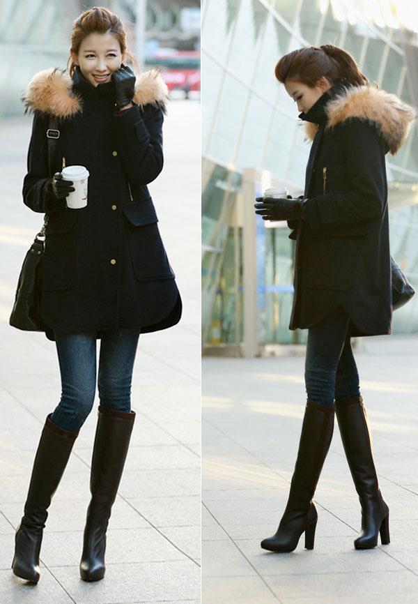 Áo cổ lông - món đồ không thể chối từ ngày đông 20