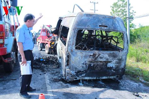 Hình ảnh vụ tai nạn thảm khốc tại Thái Lan làm 12 người Việt tử nạn 8