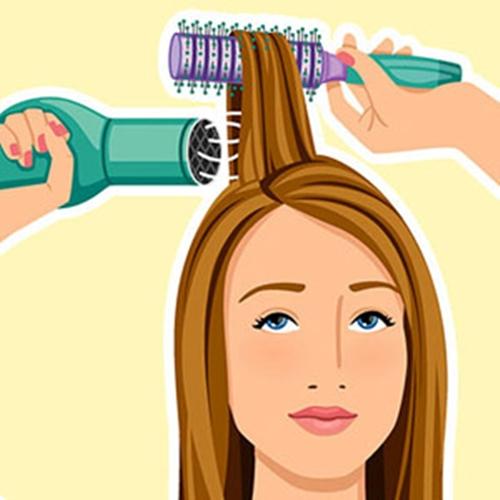 """5 phút """"làm mới"""" tóc bết mồ hôi dầu cho quý cô bận rộn 4"""
