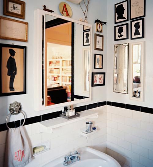 Làm mới phòng tắm với trang trí đơn giản 1