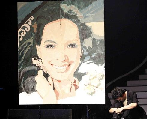 Thí sinh vẽ Thúy Hạnh làm khán giả Got Talent khóc 1