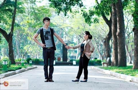 Chuyện tình đặc biệt của chàng 1m88 và nàng 1m52 tại Hà Nội 5
