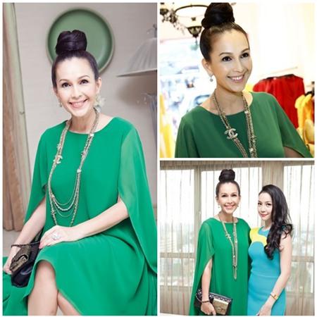 Sao Việt quyến rũ với váy suông 3