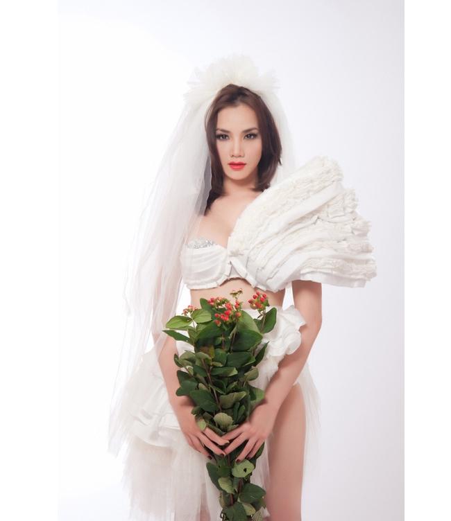 15 mỹ nhân Việt mặc nội y cưới đẹp nhất! 6