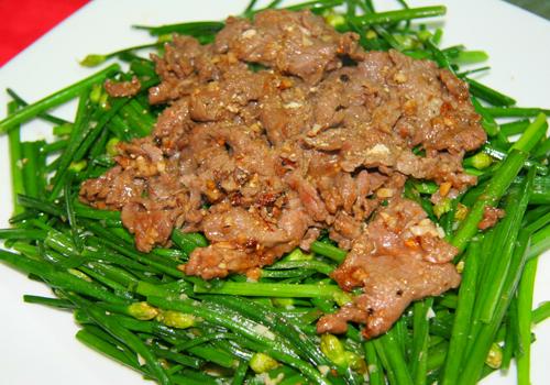 3 món rau chế biến với thịt bò ngon cơm 2