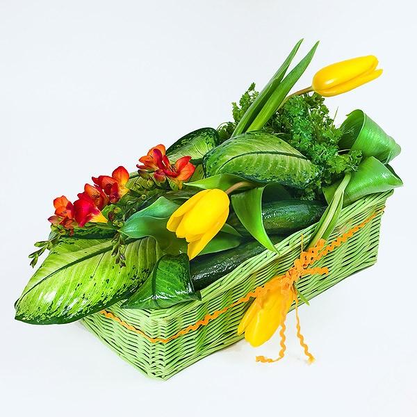Cách cắm hoa đẹp và lạ cho bàn tiệc 12