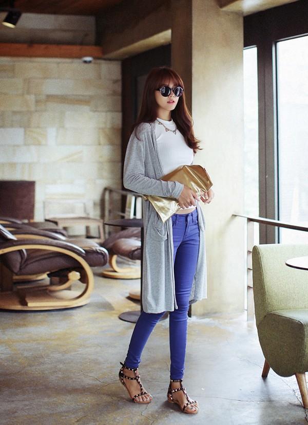 Mặc cardigan dáng dài phong cách, đủ ấm cho ngày se lạnh 6