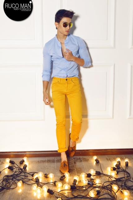 Biến hóa cho thời trang nam trong hè 2013 13