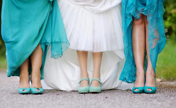3 lời khuyên khi chọn giày cô dâu, phù dâu 3