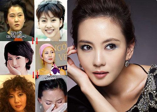 Khuôn mặt mỹ nhân Hàn biến đổi so với thời thiếu nữ 1