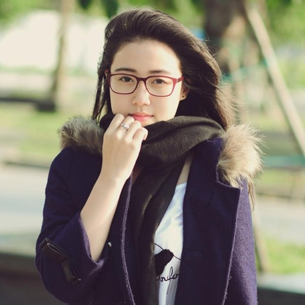 Những hot girl Việt có gương mặt đẹp không tì vết 9