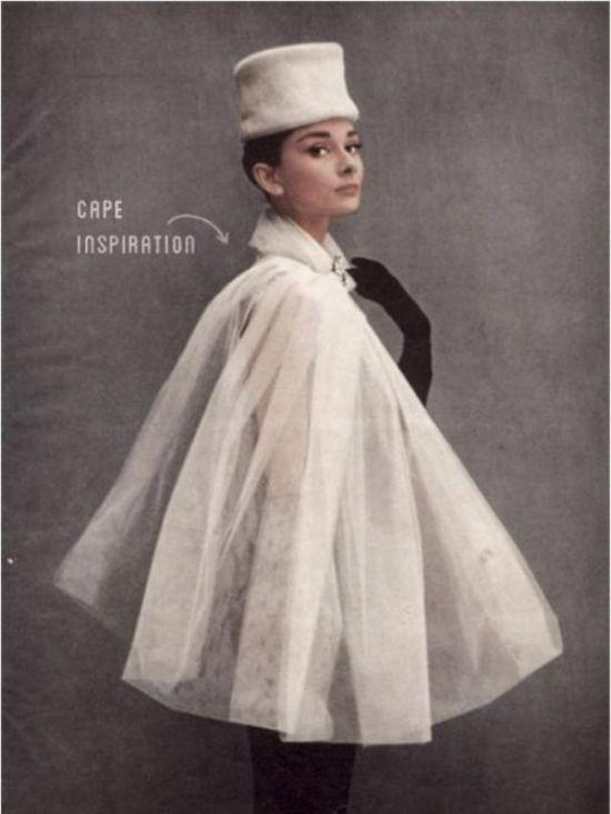 Phong cách quý tộc với áo Cape 2