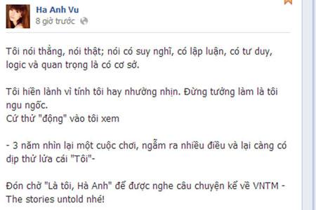 Hà Anh quyết không tha Vietnam's Next Top Model 1