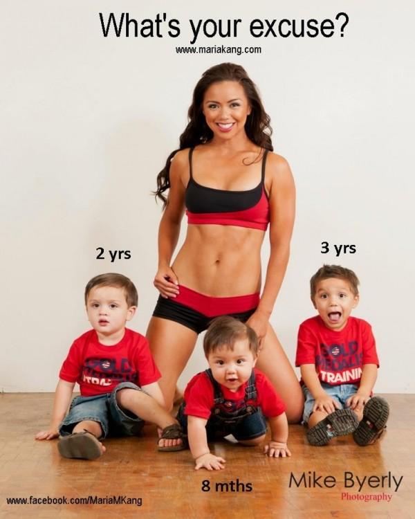 Ngây ngất bà mẹ 3 con có thân hình tuyệt mỹ 1