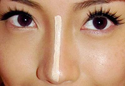 Mẹo chỉnh dáng mũi không cần dao kéo 1
