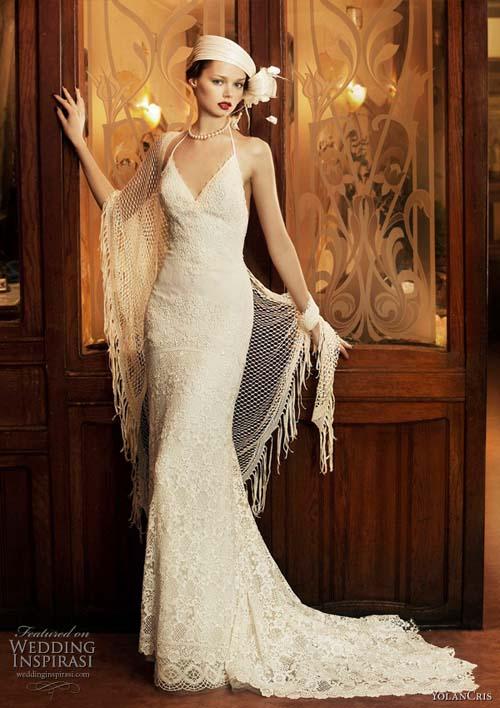 """10 váy cưới vintage """"trong mơ"""" cho cô dâu mùa thu 6"""