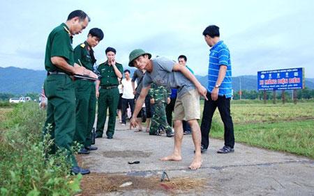 7 chiến sĩ bị sét đánh khi đang hành quân 1