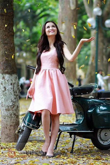 Hoa hậu Diễm Hương phủ nhận tin đồn lấy chồng 2