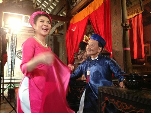 NSƯT Phạm Bằng đóng hài Tết 2014 ở tuổi 84 5