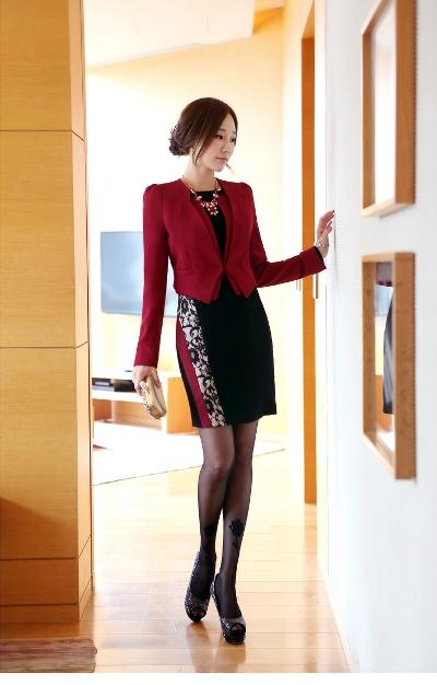 Những mẫu áo vest nữ công sở 2013 đẹp duyên dáng 4