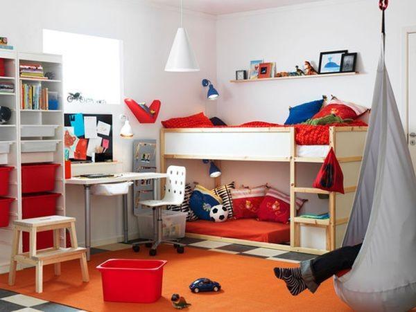 Cách bố trí giường riêng cho hai con trong cùng một phòng 1