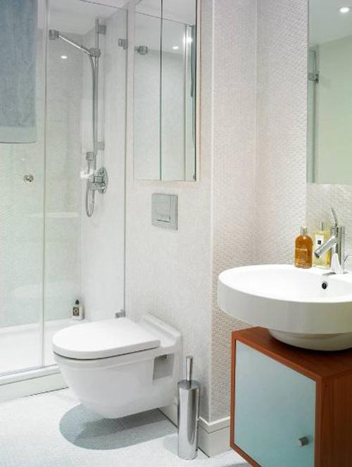 Cách nhanh gọn làm sạch từng ngóc ngách trong nhà tắm 5