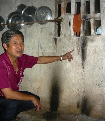 Cận cảnh những vệt cháy kì lạ ở Nghệ An 6