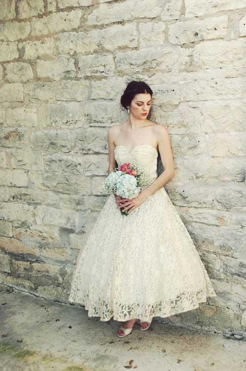 """10 váy cưới vintage """"trong mơ"""" cho cô dâu mùa thu 10"""